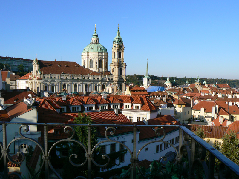 Image gallery lesser town prague for Where is prague near